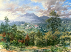 North View of Sintra, Oil on Canvas, 80 x 100 cm