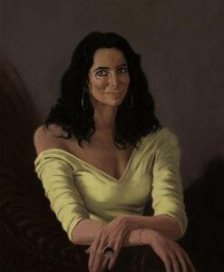 Catarina Barahona, Oil on canvas, 70 x 60 cm