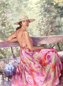 Dalila Sottomayor, Oil on canvas, 100 x 75 cm