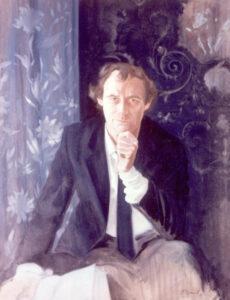Garry O'Connor, Oil on canvas, 100 x 75 cm
