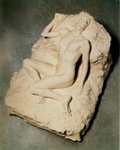 Reclining nude II, Clay, H. 16 cm, L. 30 cm, W. 23 cm